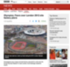 BBC Olympics: Fear over Londn 2012 site factoy plans