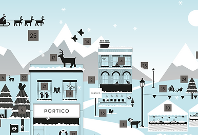Portico Advent Calendar partnership with Mannig's Tutors