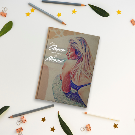 The Ocean & Her Waves: Kirsten's FIRST Poetry Book is OUT!