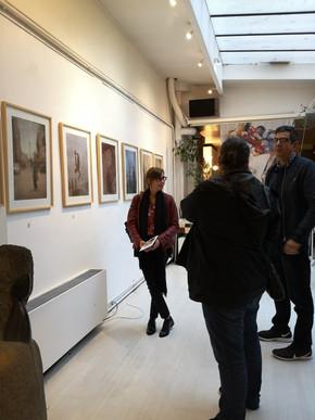 Behind the scenes, Galerie Art-Z