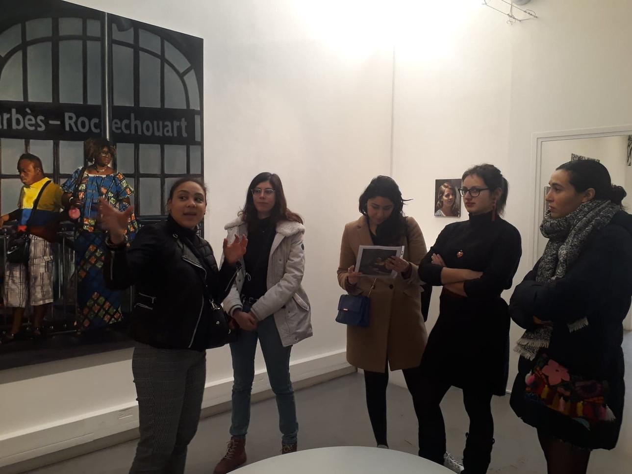 Bilal Hamdad, Quatre chemins, H Gallery