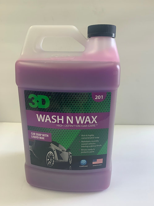 Wash N Wax 1 Gal