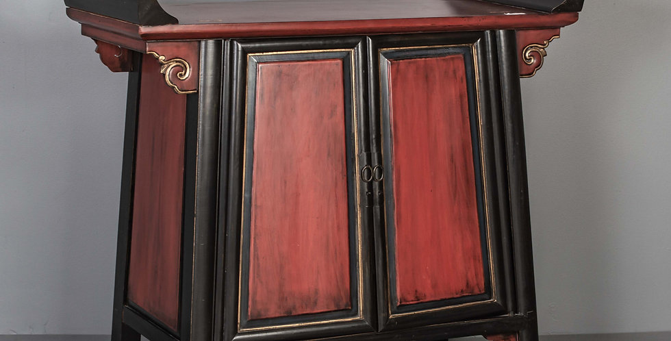 Antique Chinese Hall Cabinet