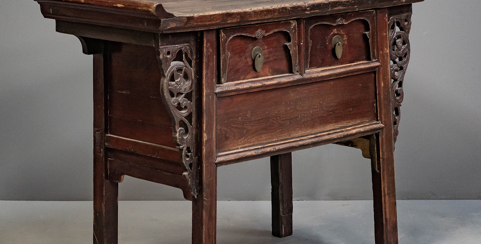 Carved Antique Hall Table
