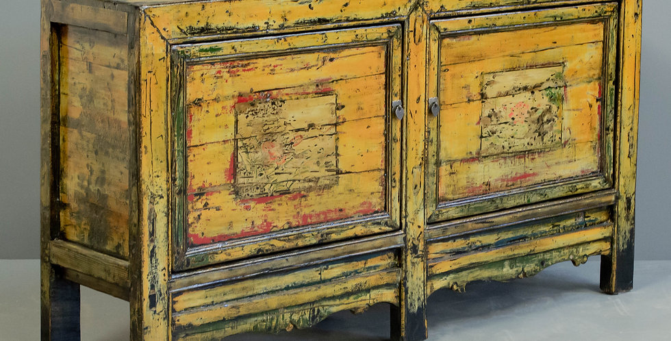 Antique Painted Sideboard/Cabinet
