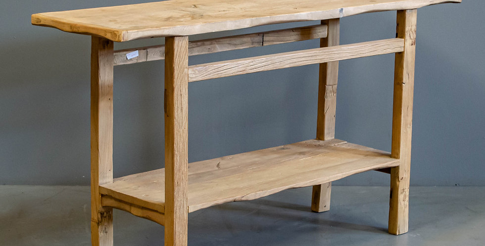 Chinese Rustic Side Table Made From Elm