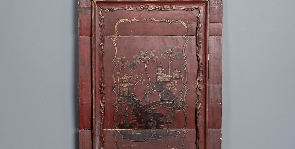 Carved Chinese Wall Panel