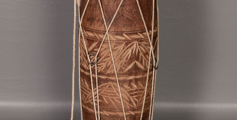 Carved Small Drum