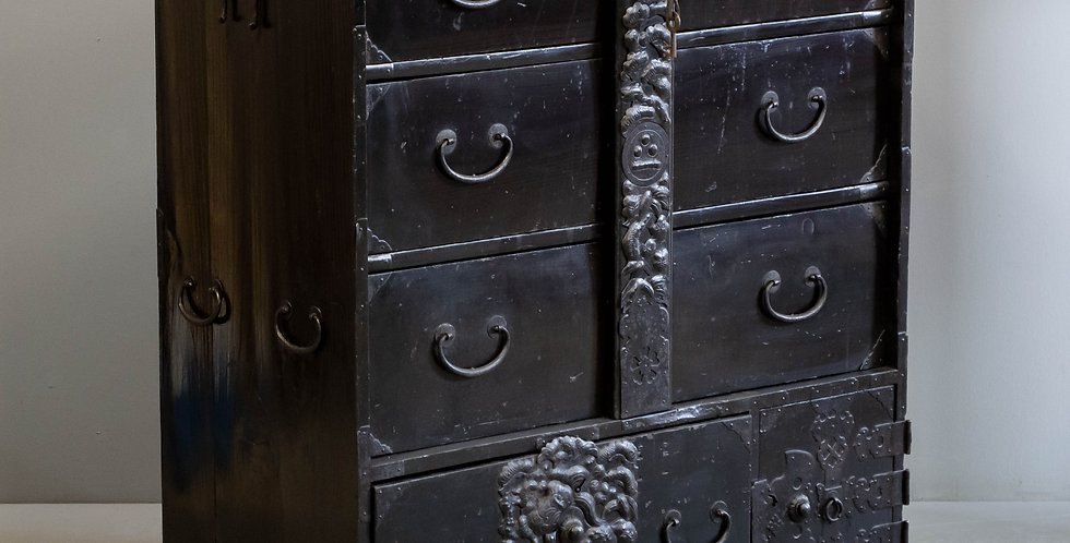 Antique Japanese Chest