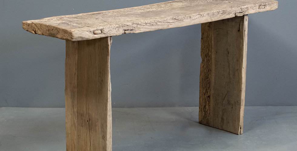 Rustic Chinese Elm Console Table