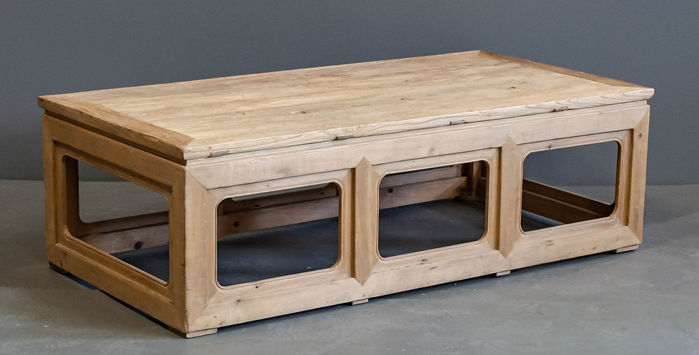 Chinese Coffee Table Made From Reclaimed Elm