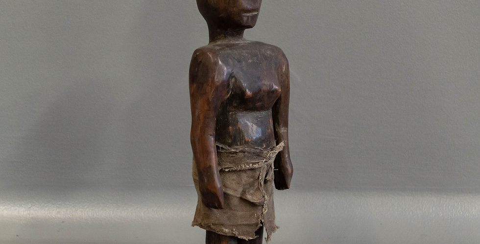 Small Carved Indonesian Ancestral Figure