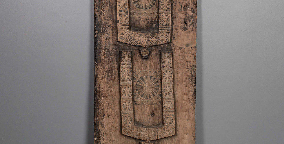 Carved Door Panel