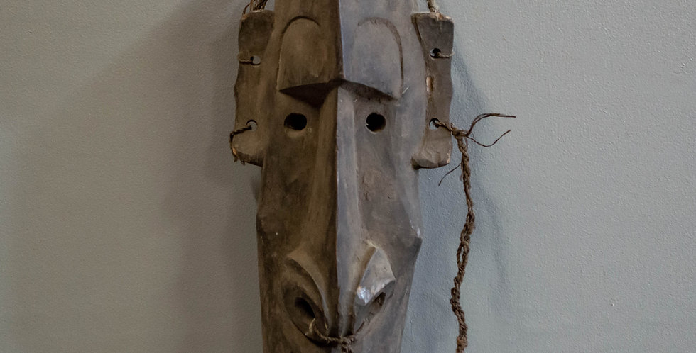 Carved Papua New Guinea Spirit Mask