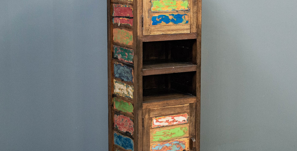 Reclaimed Boatwood Cabinet