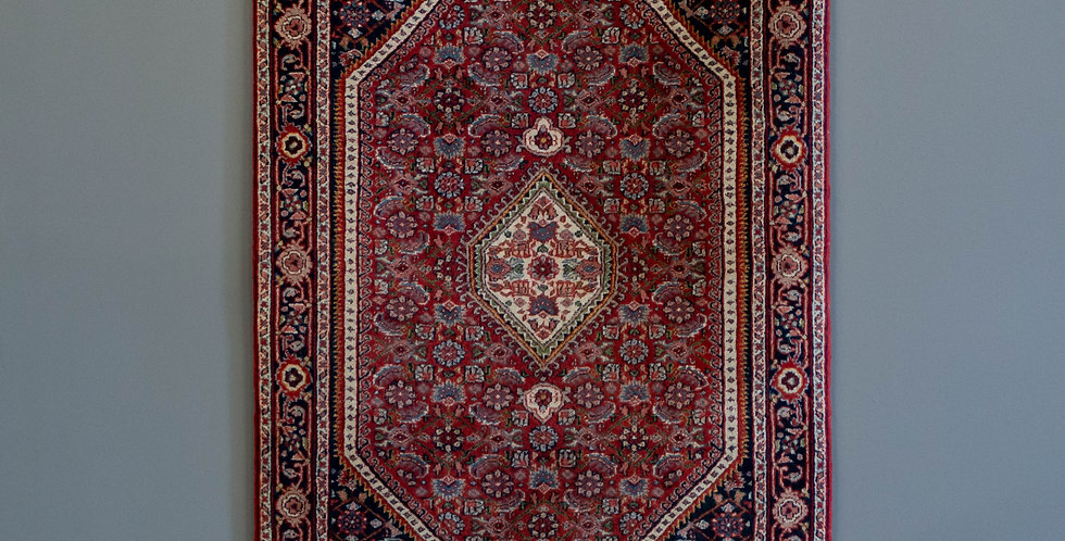 Small Hand Knitted Persian Carpet