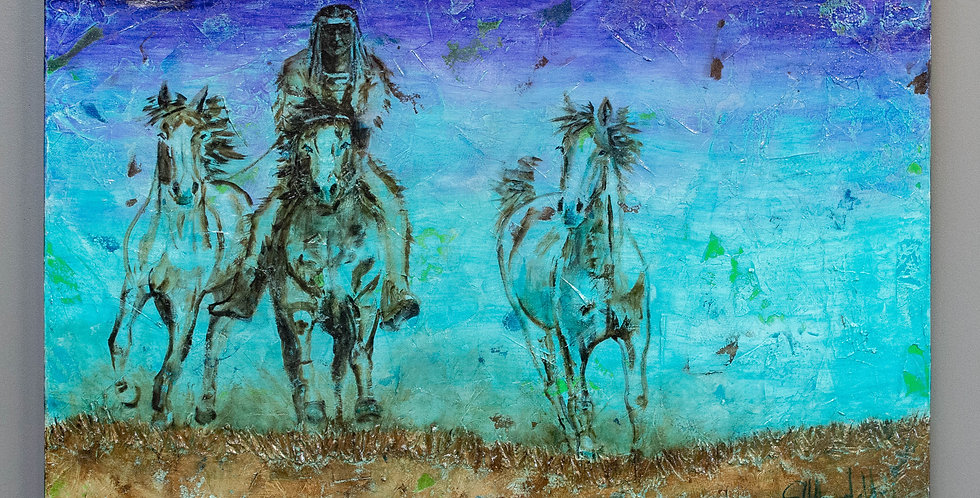 Original Oil Painting by Shawndell Oliver