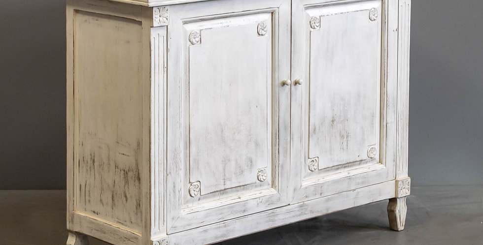 White Painted Chinese Sideboard/Cabinet