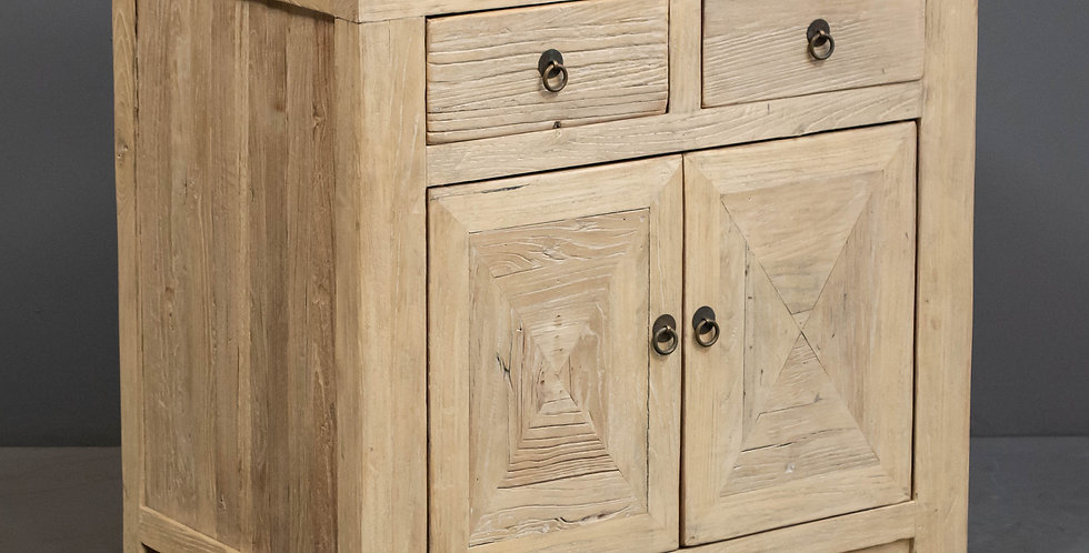 Reclaimed Chinese  Elm Cabinet