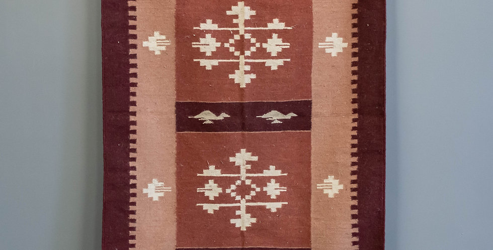Hand Made Flat Weave Dhurrie