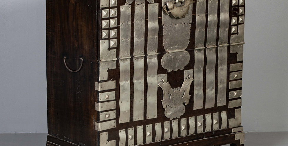 Antique Korean Warriors Chest