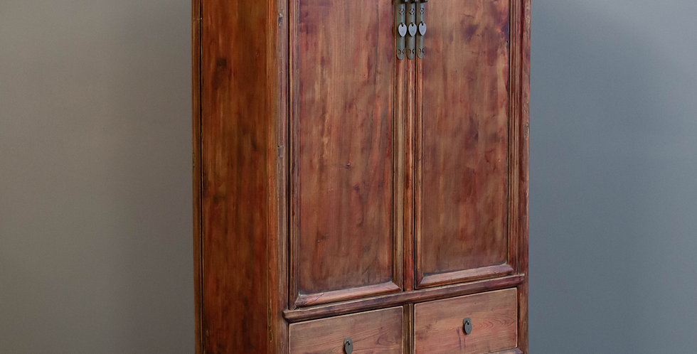 Antique Chinese Armoire Cabinet