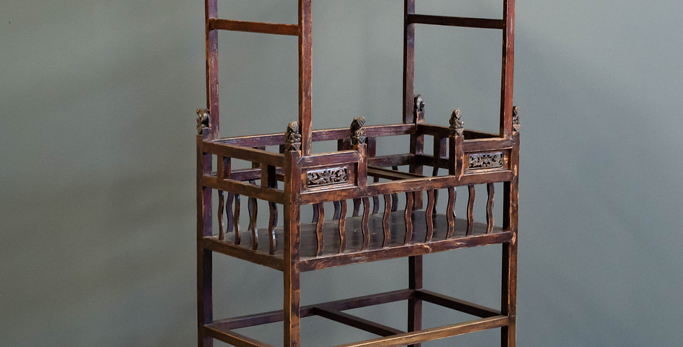 Antique Chinese Display Shelf