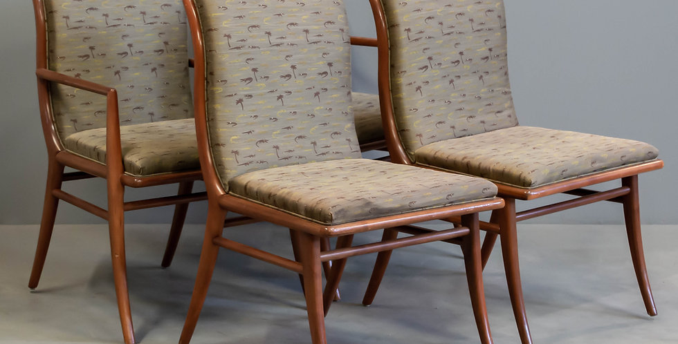 Set of Four Mid Century John-Gibbings Chairs