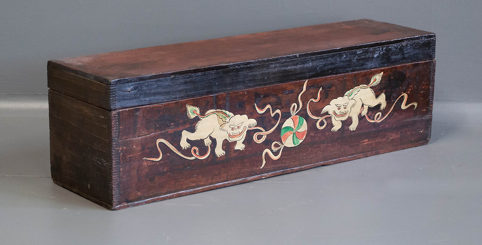 Painted Scroll Box