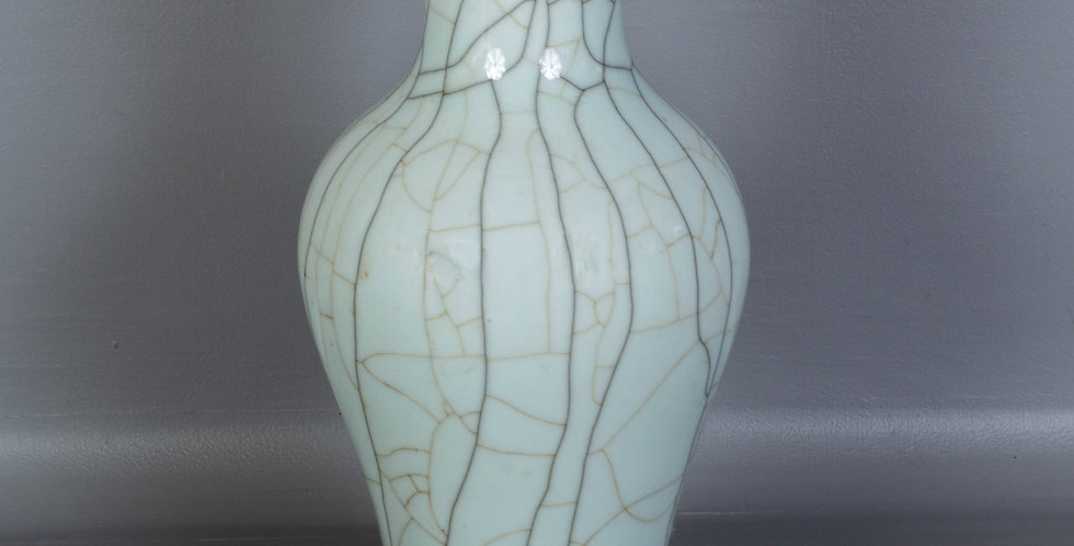 Tall Vase, Pale Green