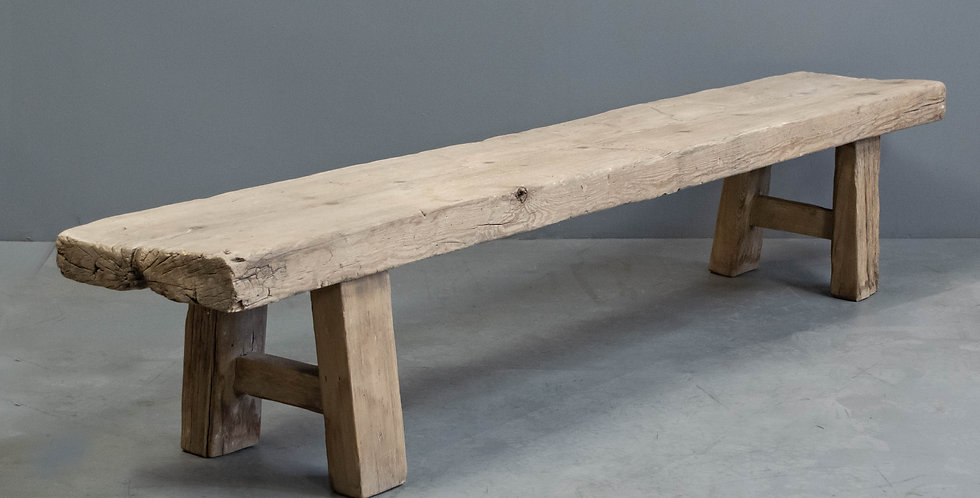Lont, Rustic Chinese Slab Bench