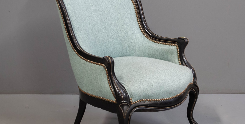 Antique French Side Chair   -   One Of A Pair
