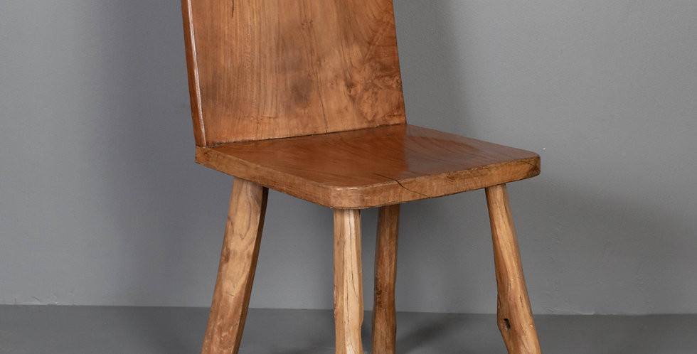 Hand Crafted Teak Side Chair