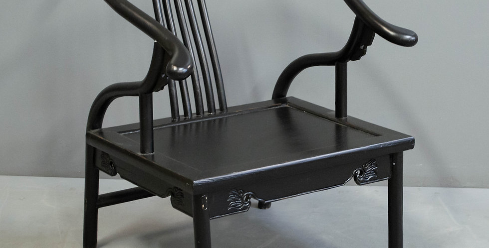 Black Painted Oxbow Chair