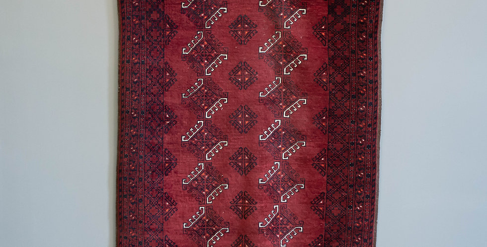 Vintage Wool Rug From Pakistan
