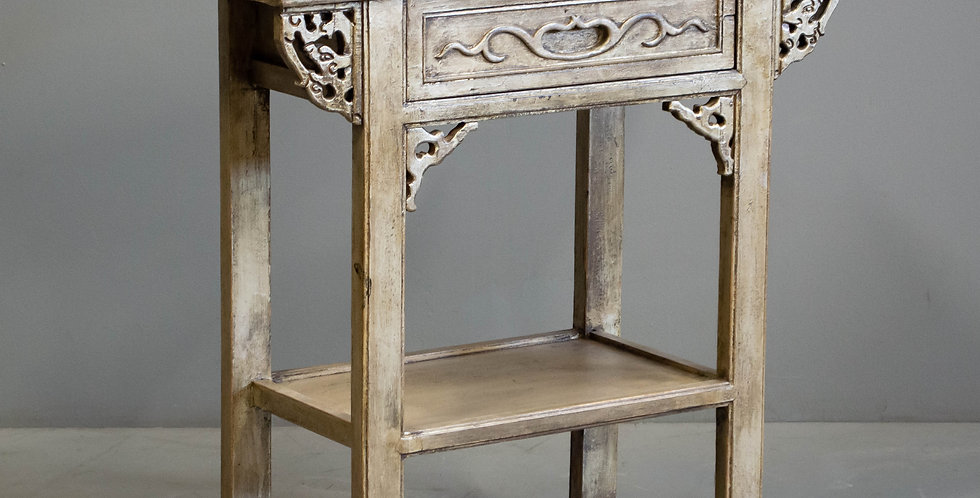 Carved Gold Painted Chinese Console Table