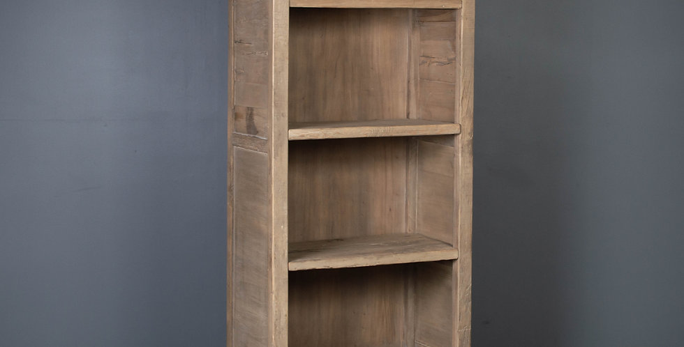 Reclaimed Elm and Pine Bookcase