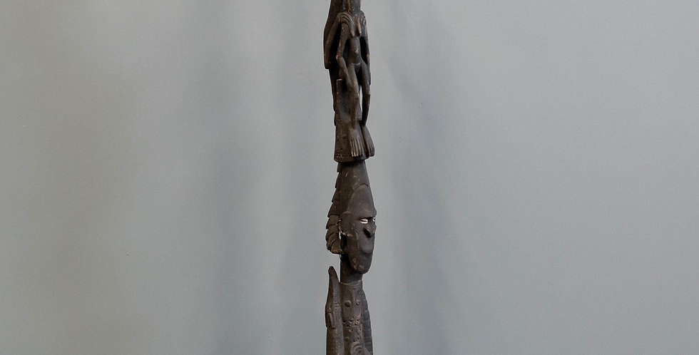 Carved Papua Ancestral Totem (Tribal)