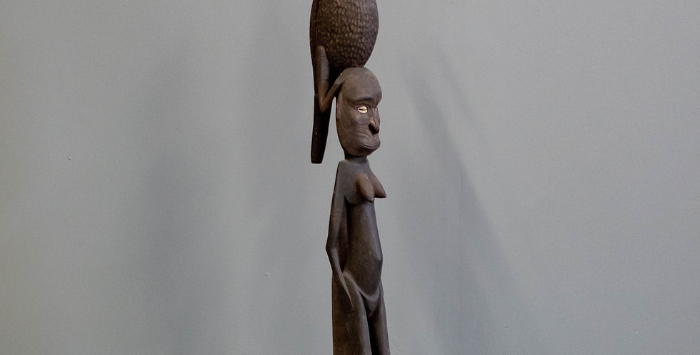 Carved Papua New Guinea Ancestral Totem (Tribal)