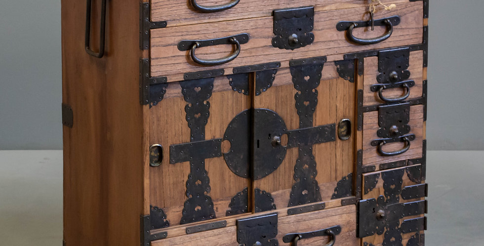 Antique Japanese Merchant Chest