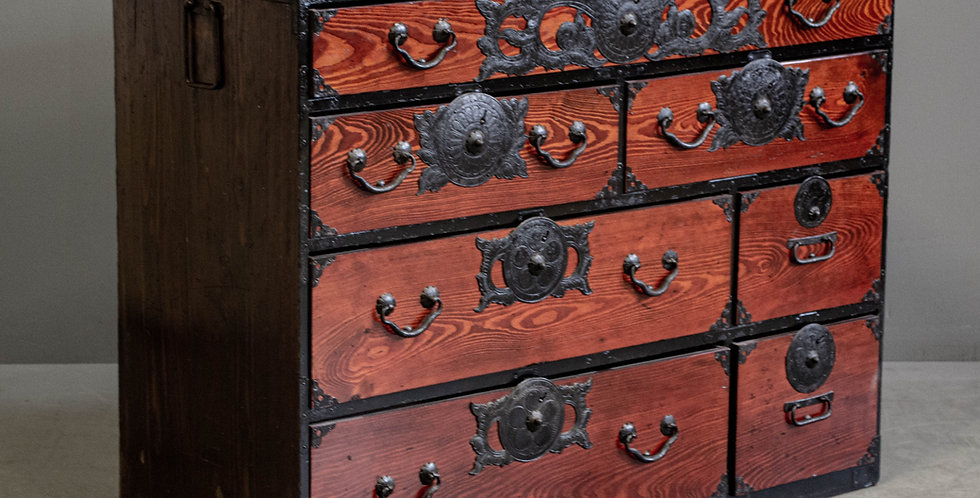 Antique Japanese Clothing Chest