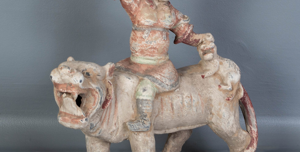 Terra Cotta Warrior on Tiger