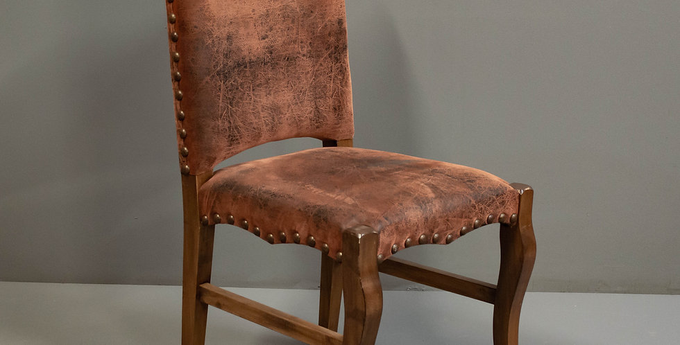 Set of 8 Faux Leather Chairs