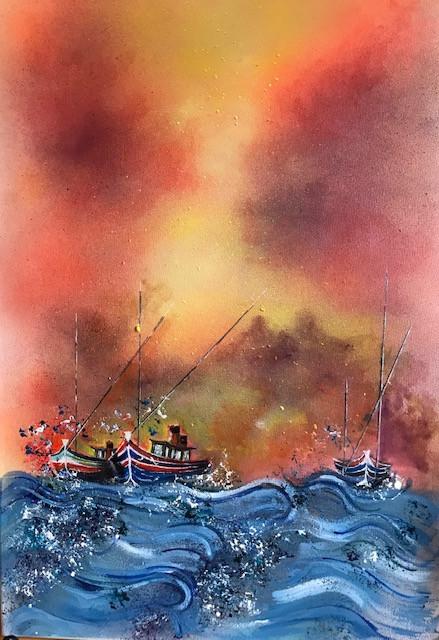 The Trawlers Heading In