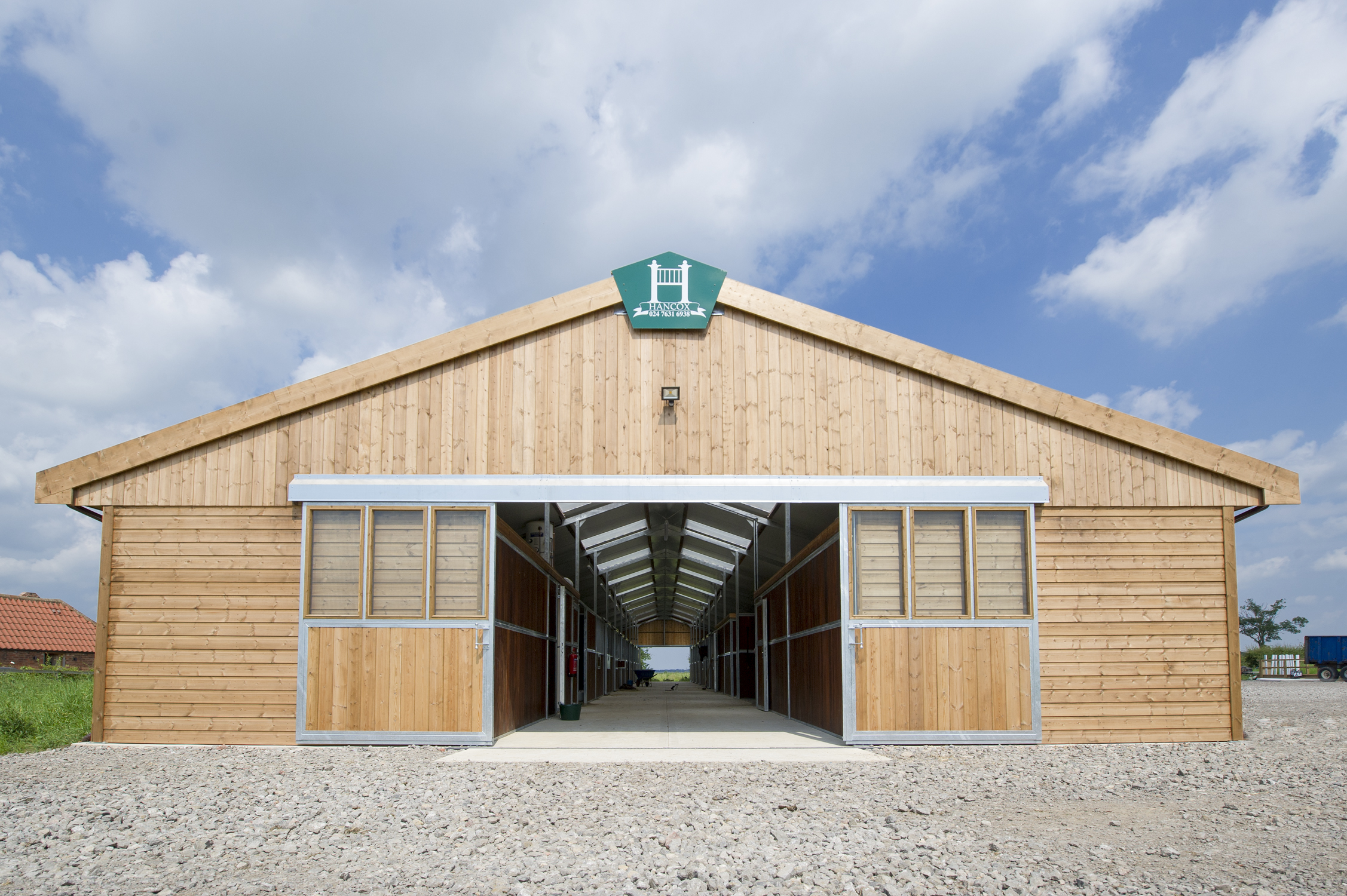 Our Purpose Built Barn