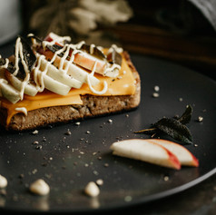 Apple Dijon Grilled Cheese