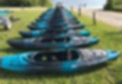kayak rental boats