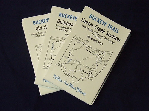 Buckeye Trail Section Maps