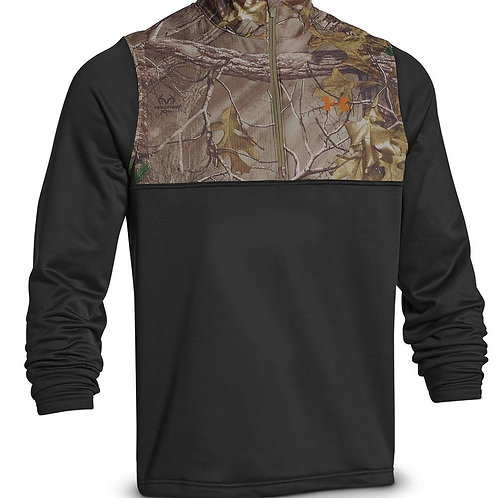 Under Armour Zip Front Pullover Camo