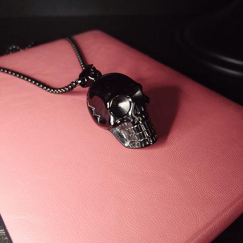 Pendentif Crâne Noir